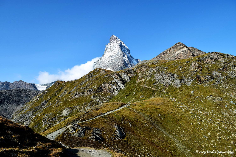Le Cervin vu depuis Schwarzsee