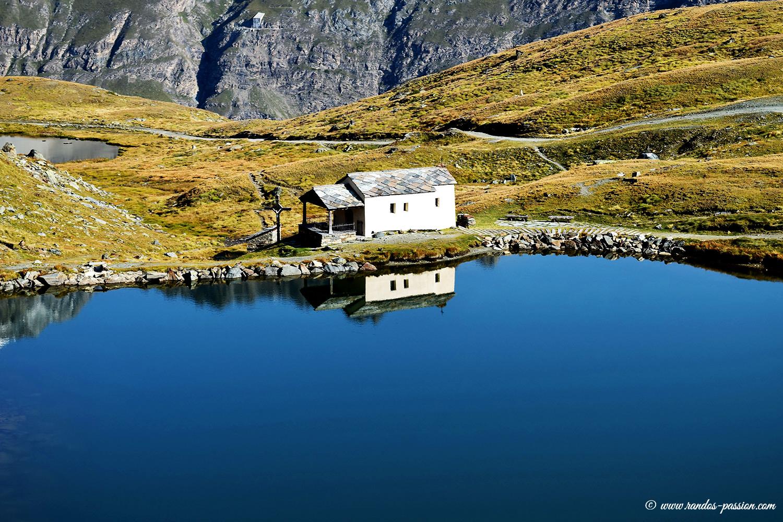 Lac Schwarzsee et chapelle Maria-Zum-Schnee