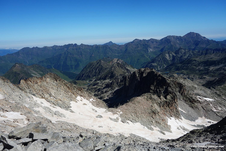 Le pic du Midi de bigorre vue depuis le Néouvielle
