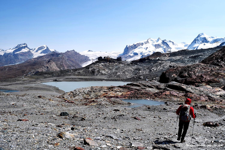 Randonnée du Matterhorn Glacier Trail