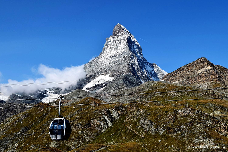 Le téléphérique de Schwarzsee à Zermatt