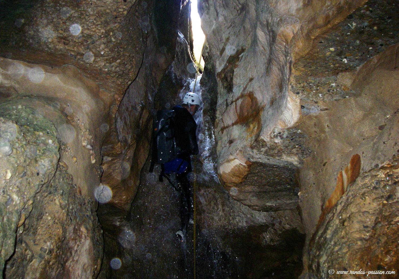 Barranco de las Palomeras: canyoning en Sierra de Guara