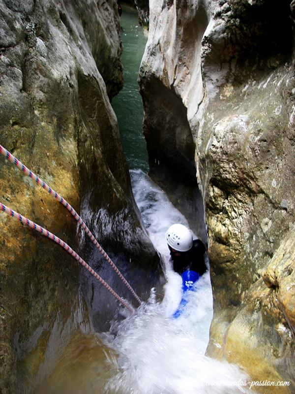 Le Fornocal: canyoning en Sierra de Guara