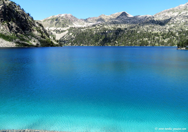 Le lac d'Aubert dans la réserve du Néouvielle
