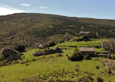 Bagüeste; un village abandonné en Sierra de Guara