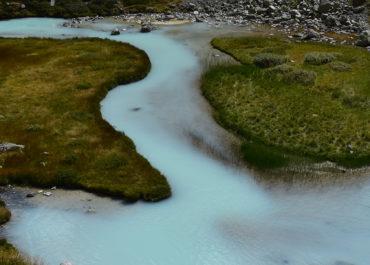Randonnée au col et aux lacs du glacier d'Arsine
