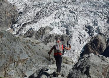 Randonnée au refuge du Glacier Blanc