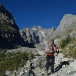 Le départ du sentier du refuge du Glacier Blanc