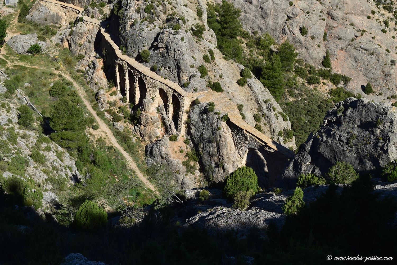 L'aqueduc romain de Castellote