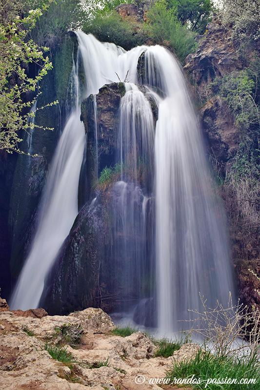 La cascade Batida, proche de Colomarde (Aragon)