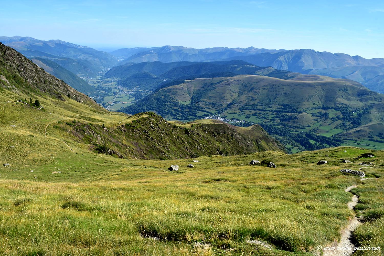La cête de Cupeyroude et la vallée d'Aure