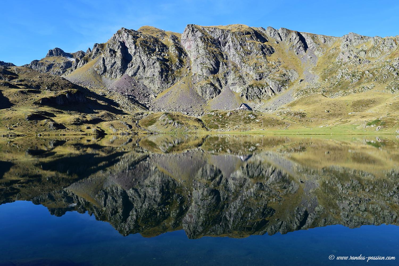Les lacs d'Ayous en vallée d'Ossau - Le lac Gentau