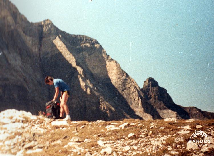 Muraille de Barroude en 1987