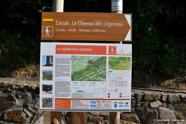 Le sentier des légendes - Les Mille marches - Hérault