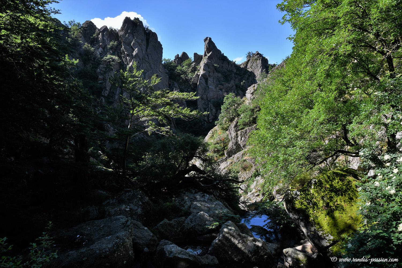 Le sentier des Mille Marches - Hérault