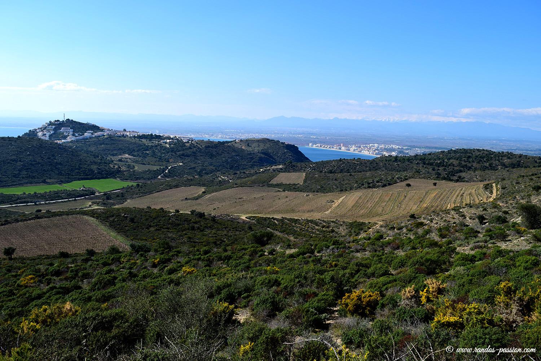 Vue sur la baie de Roses - Catalogne