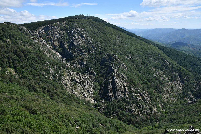 Panorama du belvédère des Gorges du Bureau - Hérault