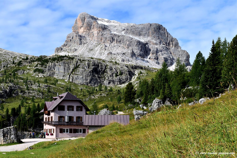 Le refuge des Cinque Torri - Dolomites