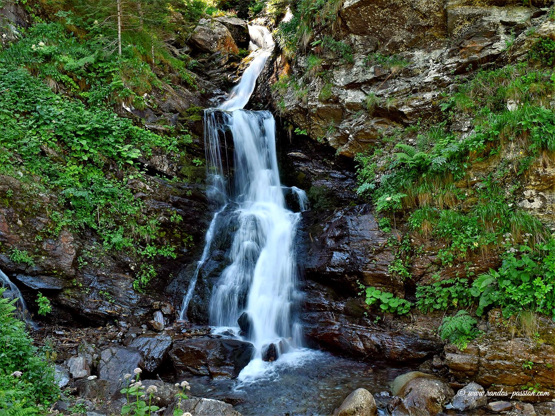 La cascade de la Coume - Haute-Garonne