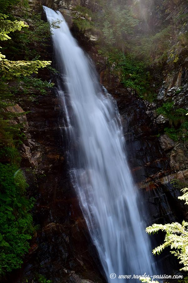 La cascade du gouffre d'Enfer - Haute-Garonne