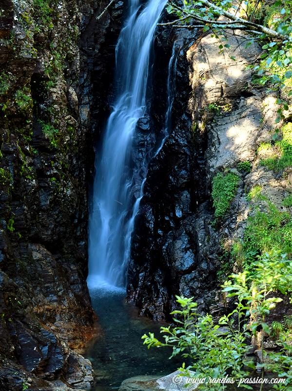La cascade de Houradade - Haute-Garonne