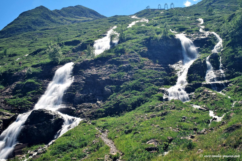 La cascade de Prat-Long - Haute-Garonne