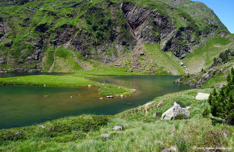 Le lac Vert - Haute-Garonne
