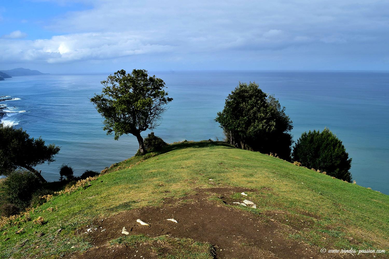 Mirador de Behatokia entre Deba et Zumaia