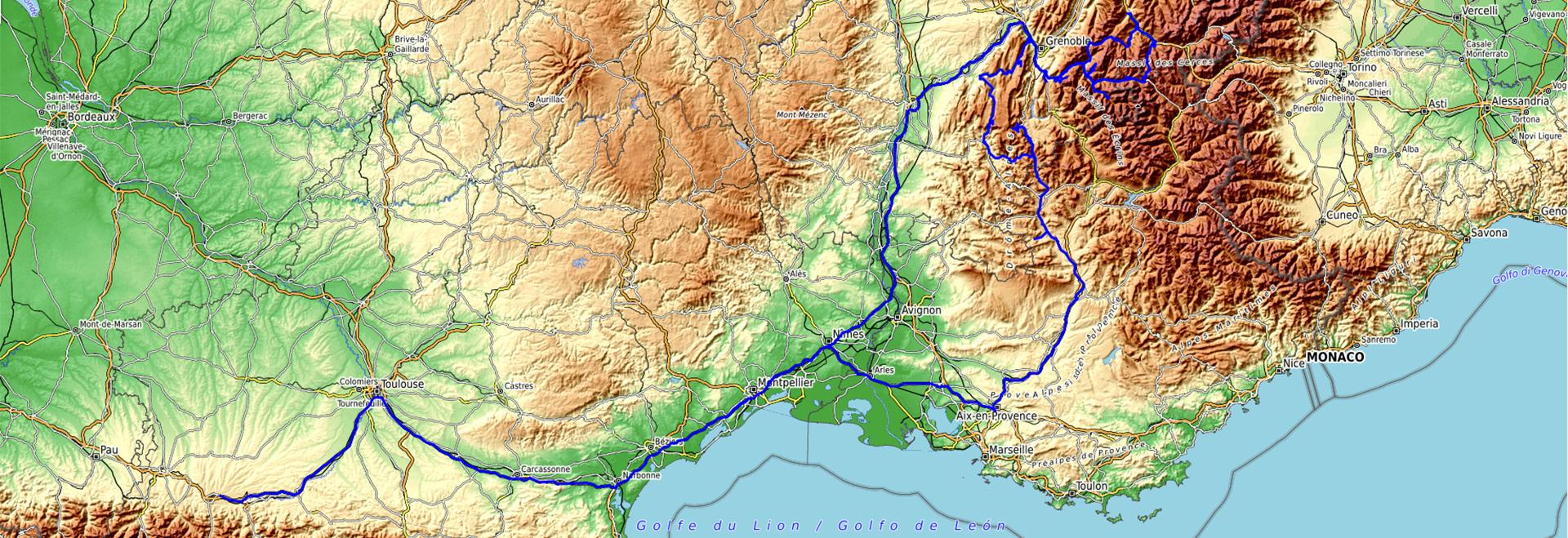 Roadtrip Alpes 2020