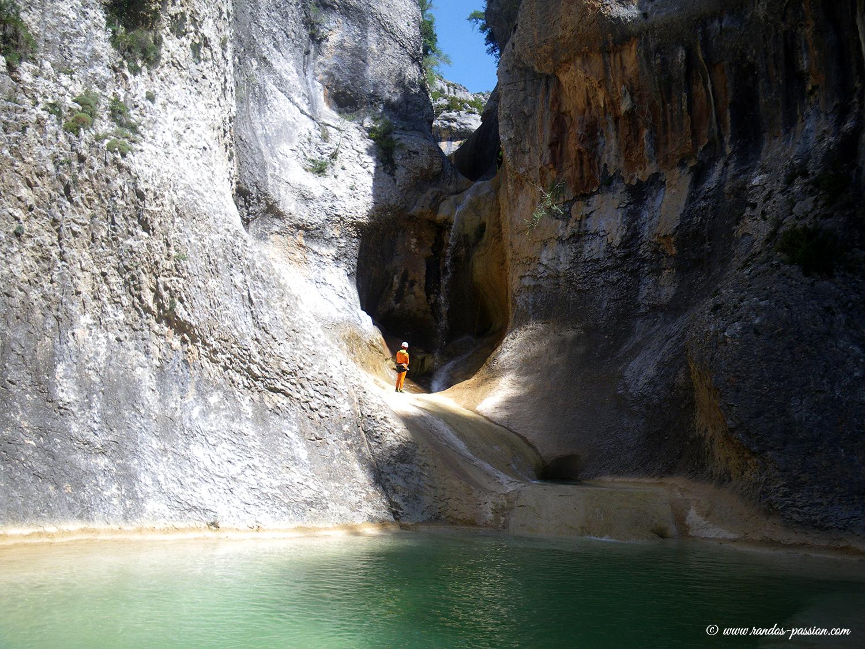 Cascades de Peña Guara - Sierra de Guara - Canyon du Mascún