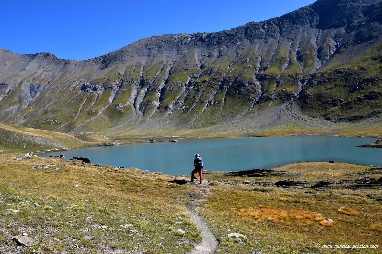 Le lac du Goléon - Hautes-Alpes