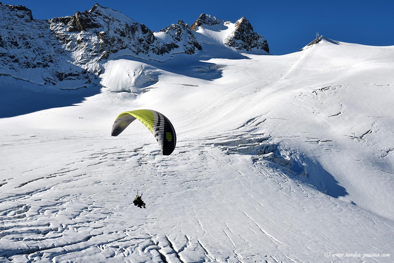 Le glacier de la Girose - Massif de La Meije - Hautes-Alpes