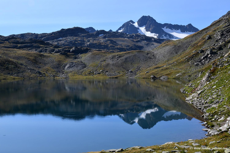 Le lac Blanc et le glacier de Saint-Sorlin - Savoie