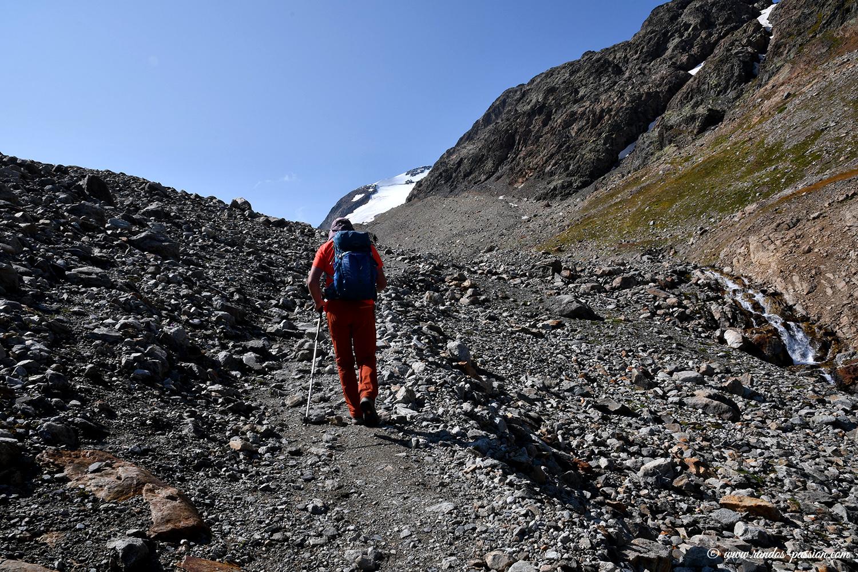 Randonnée vers le glacier de l'Etendard - Savoie