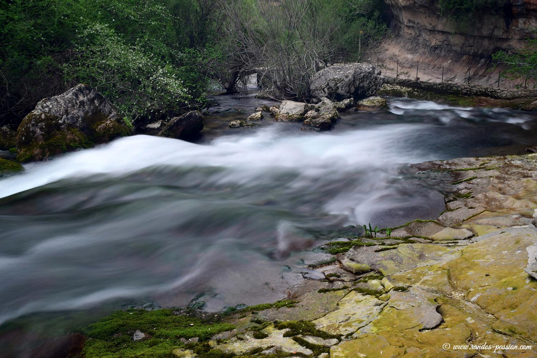 Le rio Pitarque - Aragon