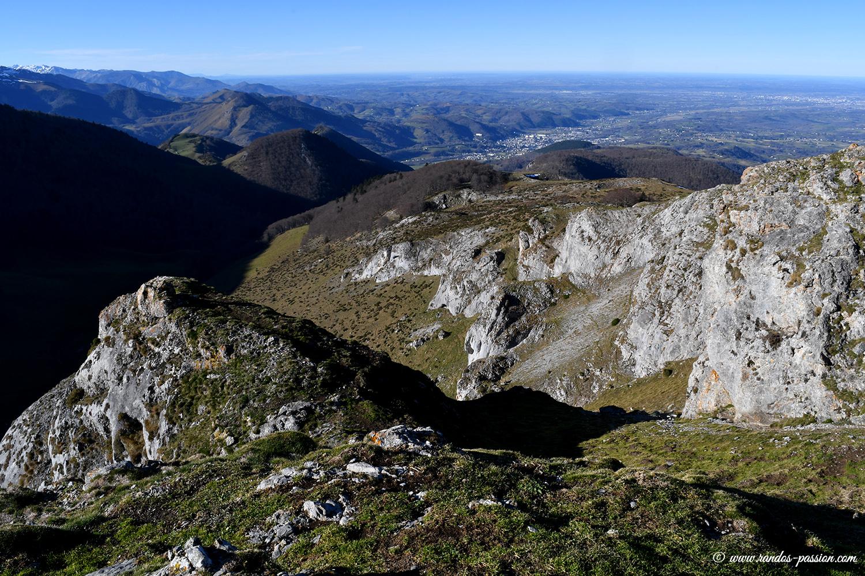 Vue sur Bagnéres de Bigorre