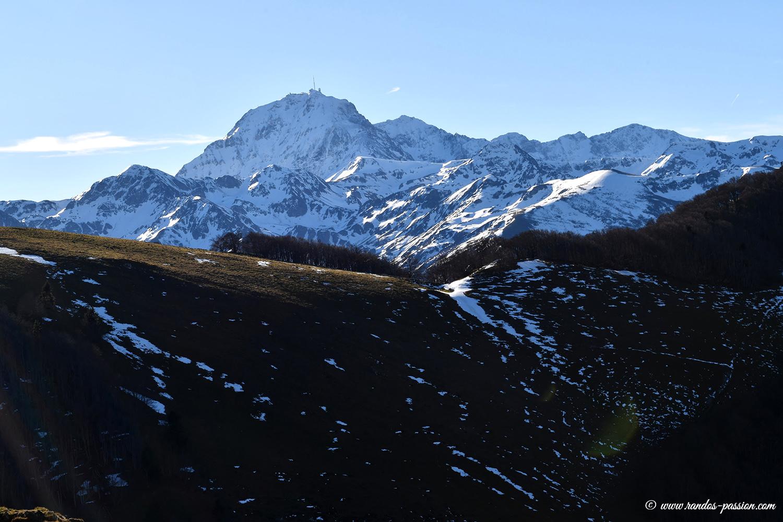 Vue sur le Pic de Midi de Bigorre