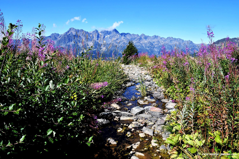 Au lac Lamant - Alpe d'Huez