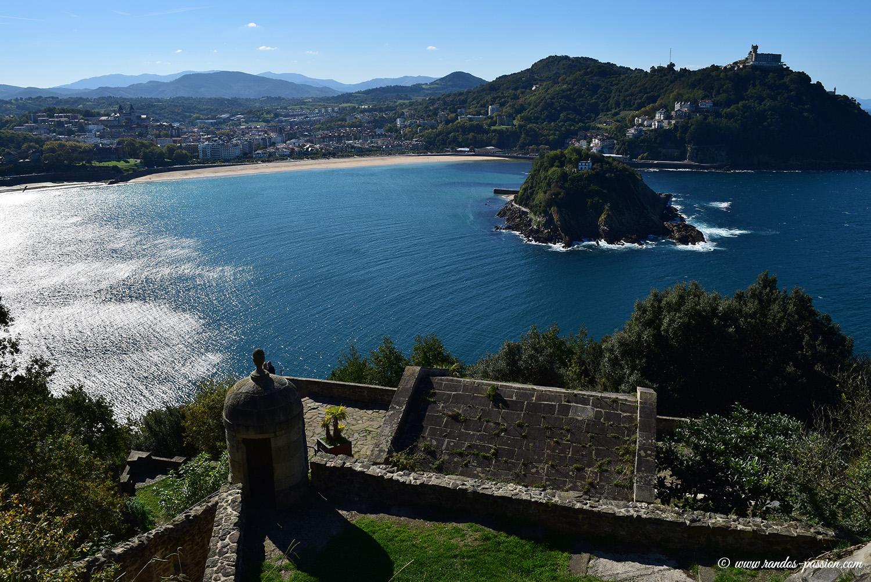 Ile de Santa Clara et Mont Igueldo