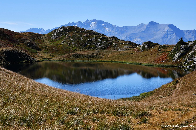 Le lac Noir à l'Alpe d'Huez