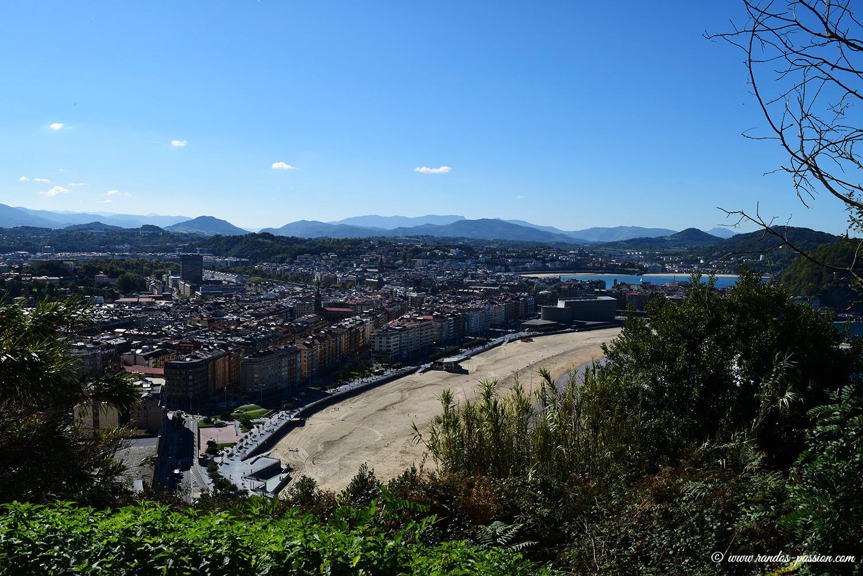 Plage de Zurriola - San Sebastian