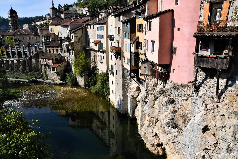 Maisons suspendues Pont en Royans - Isére
