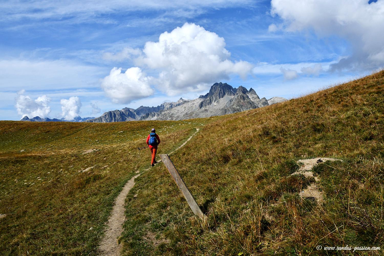 Randonnée Col de la Croix de Fer - Col de Bellard - Col du Glandon