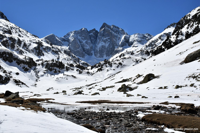Randonnée au lac de Gaube et au refuge des Oulettes de Gaube en hiver