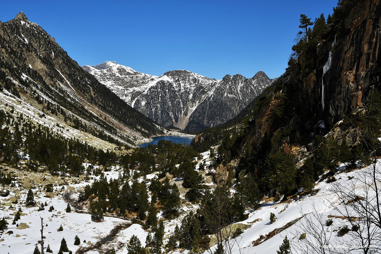 Vue sur le lac de Gaube - Hautes-Pyrénées