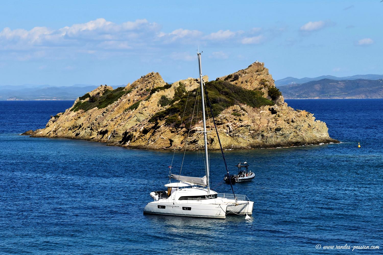 Le rocher du Rascas - Port-Cros