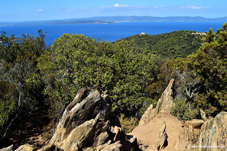 Le Mont Vinaigre, point culminant de Port Cros