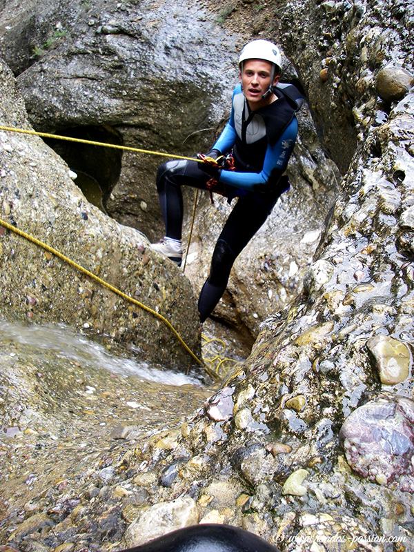 Canyoning Sierra de Guara - Le barranco de Lumos