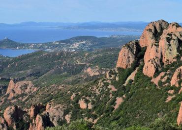 Le pic du Cap Roux – Massif de l'Estérel